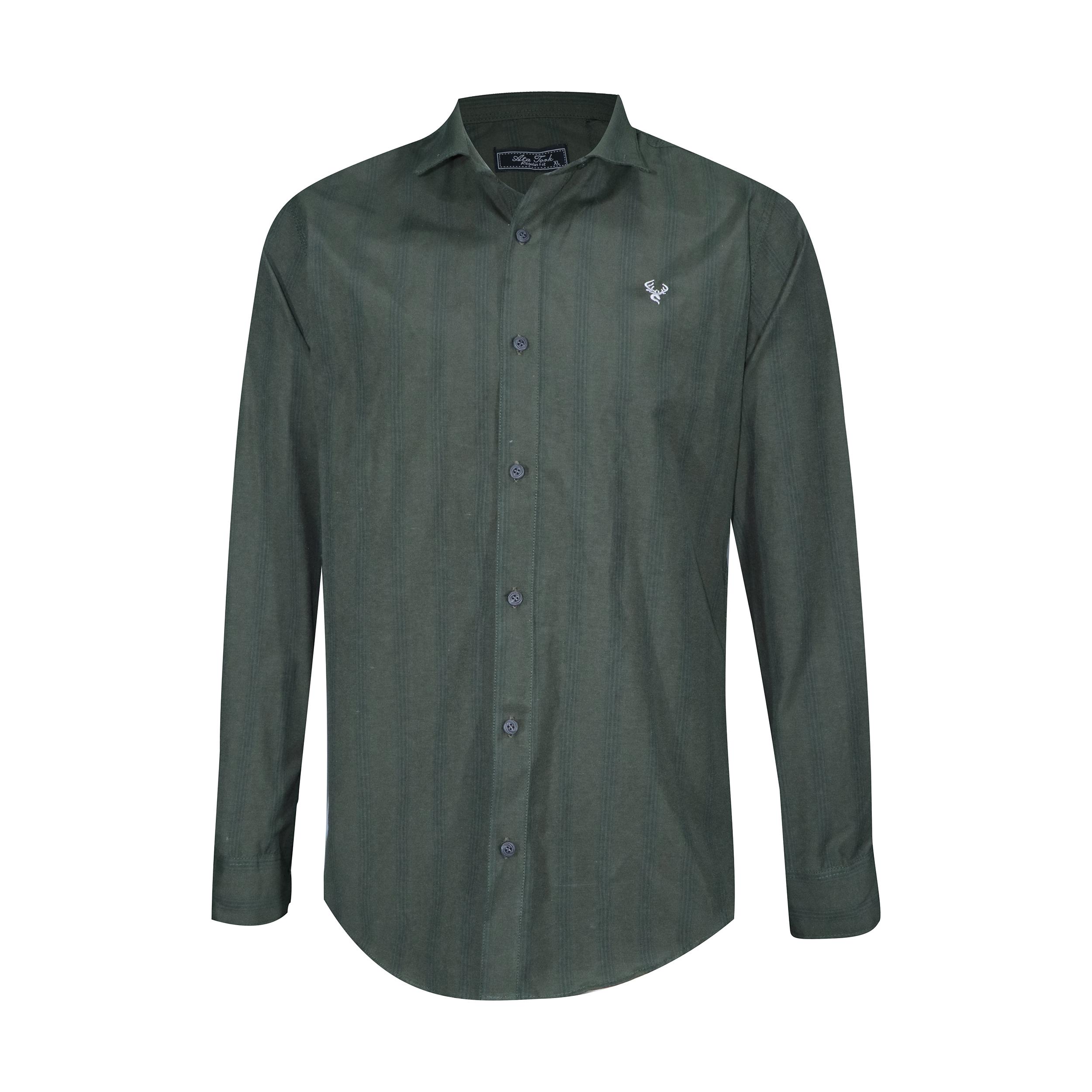 پیراهن آستین بلند مردانه آتا ترک مدل A24