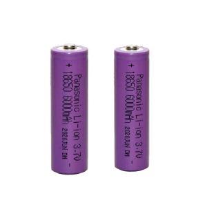 باتری لیتیوم یون قابل شارژ پاناسونیک کد 18650 ظرفیت 6000 میلی آمپرساعت بسته 2 عددی