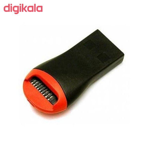 کارت حافظه microSDHC ویکو من مدل Extre600X کلاس 10 استاندارد UHS-I U3 سرعت 90MBps ظرفیت 64گیگابایت همراه با کارت خوان main 1 4