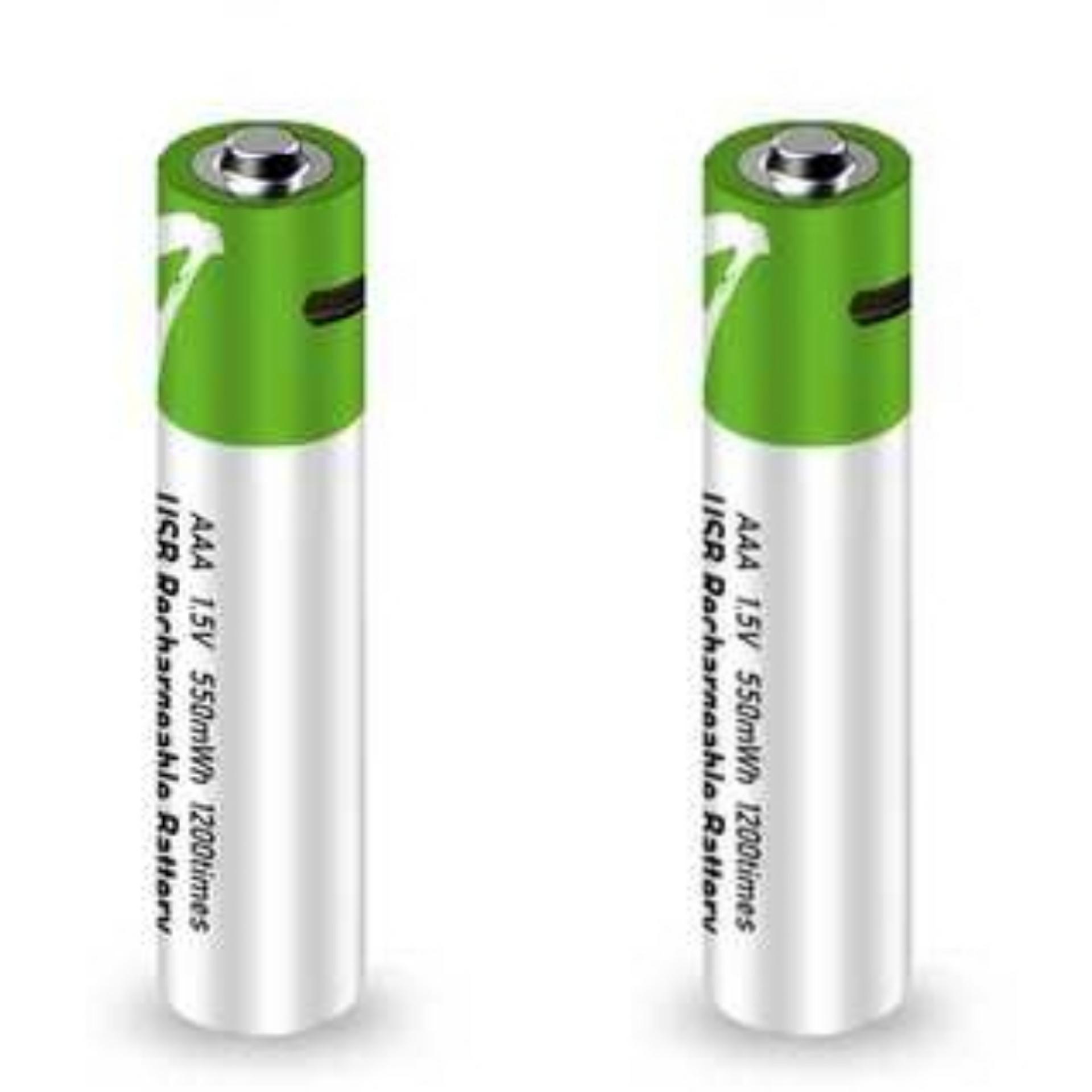 باتری نیم قلمی قابل شارژ اسمارتولز مدل H1  بسته ۲ عددی