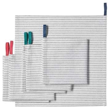 دستمال آشپزخانه ایکیا مدل gruppera بسته 6 عددی
