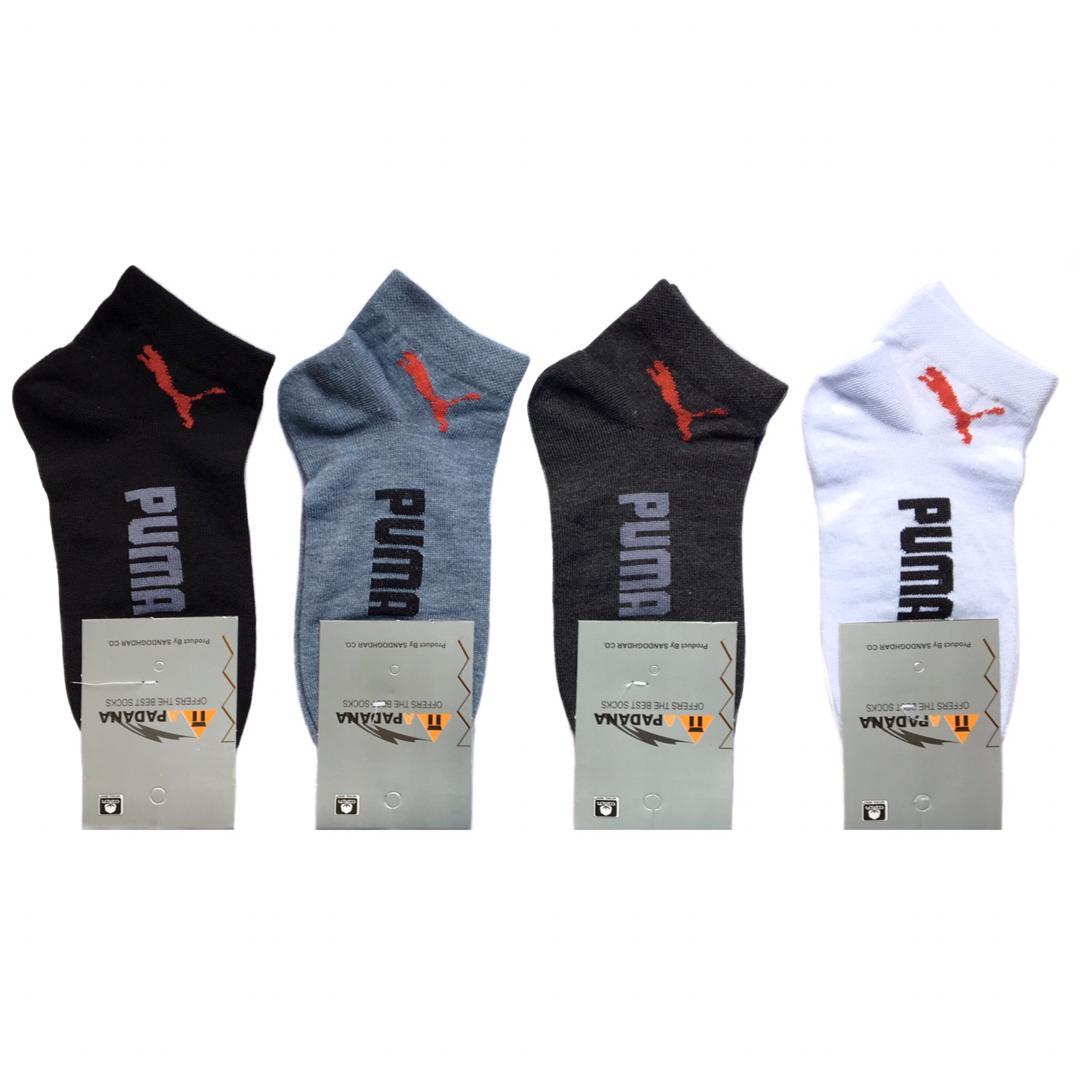جوراب ورزشی مردانه کد ۳۵۱۹۴۳۵ مجموعه 4 عددی