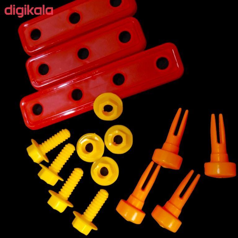 ست اسباب بازی ابزار مکانیکی کد 24 main 1 2