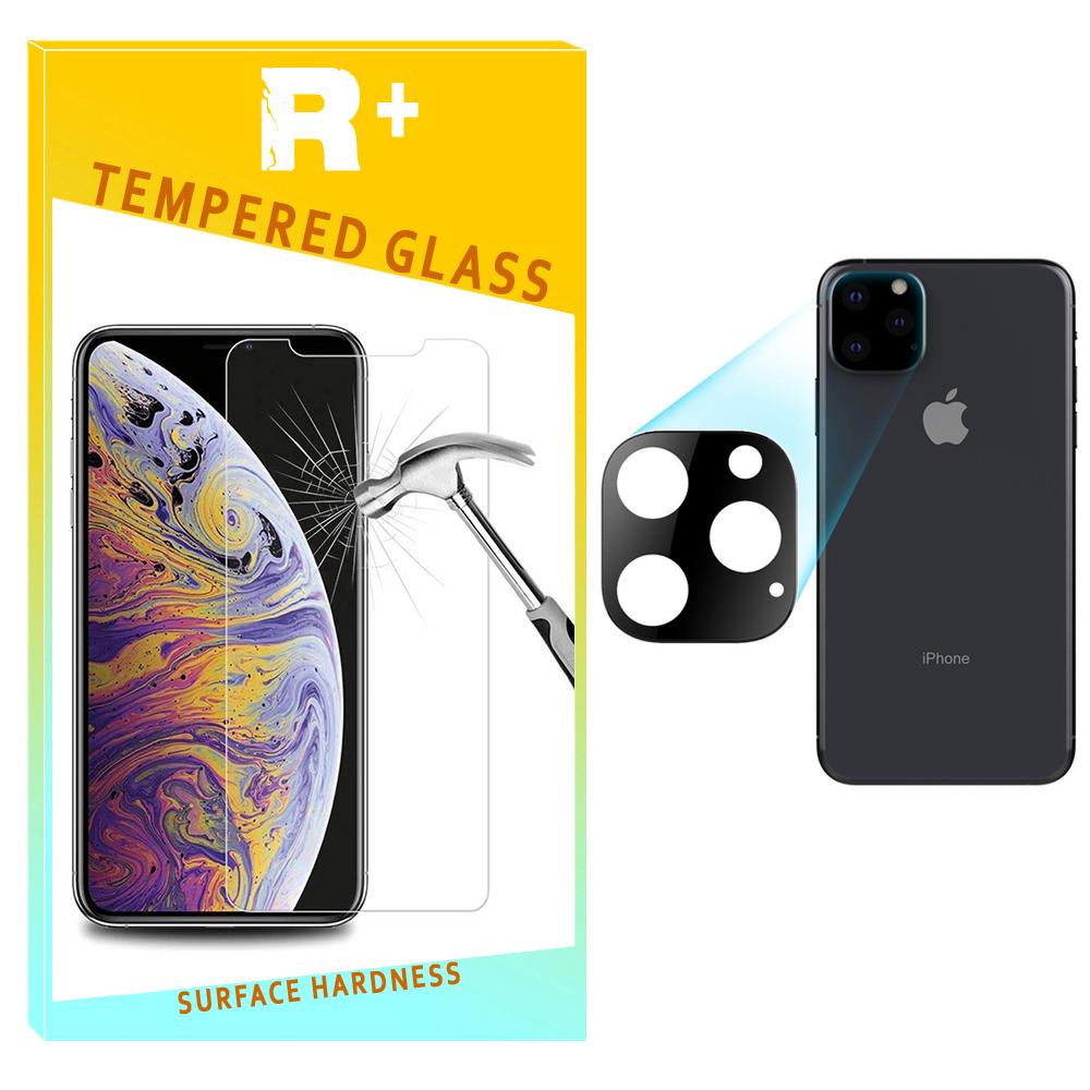 محافظ لنز دوربین آرپلاس مدل شیشه ای مناسب برای گوشی موبایل اپل Iphone 11 ProMax