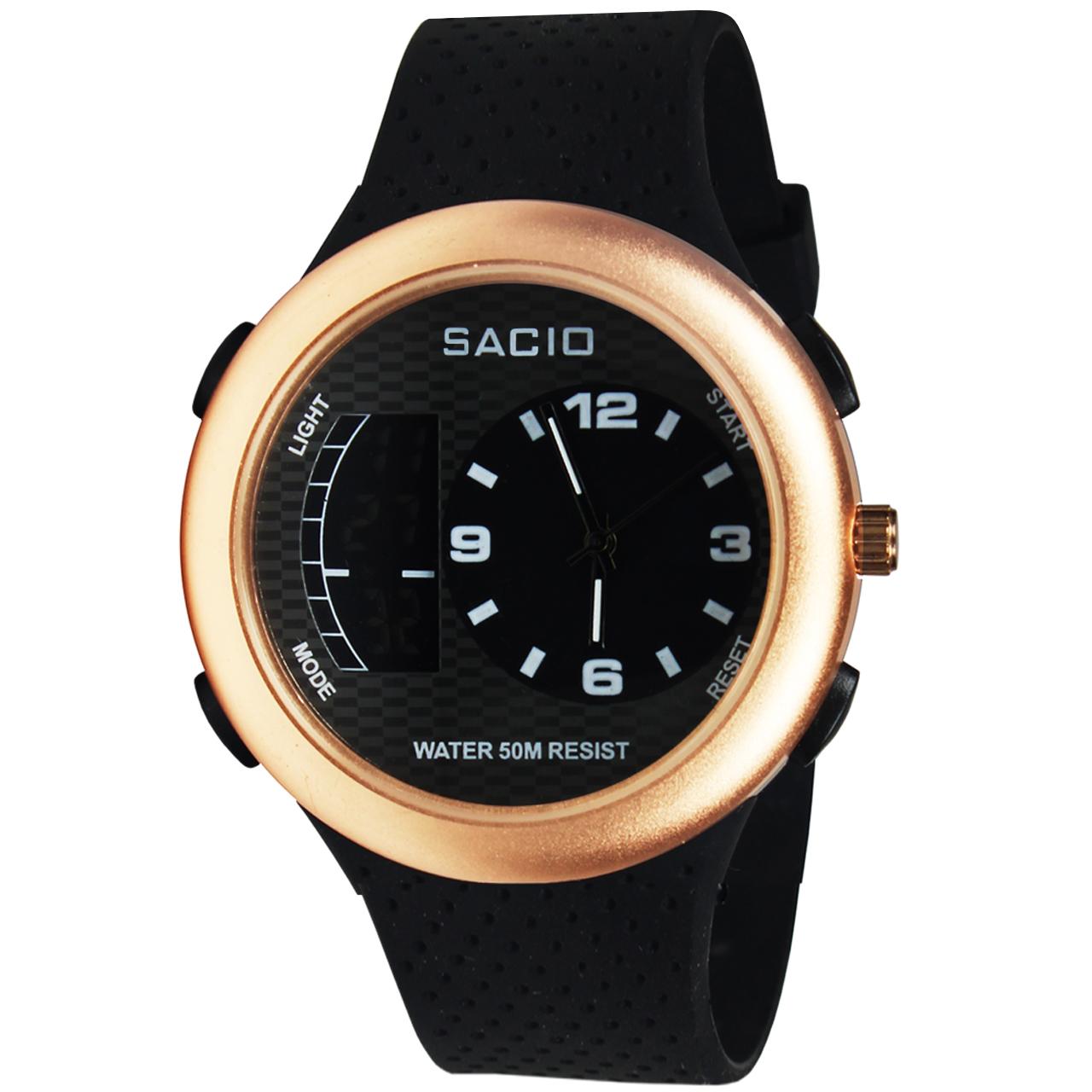 کد تخفیف                                      ساعت مچی عقربه ای مردانه کد New R-01                     غیر اصل