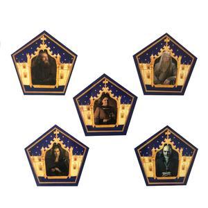 نشانگر کتاب مدل کارت شکلات قورباغه ای هری پاتر مجموعه 5 عددی
