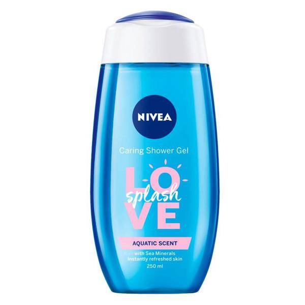 شامپو مو و بدن نیوآ مدل Love splash حجم 250 میلی لیتر