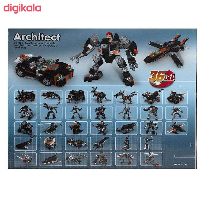 ساختنی دکول مدل آرشیتکت 36 مدل 01 main 1 5