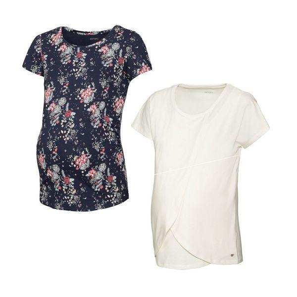 تی شرت بارداری اسمارا مدل 5609512 مجموعه دو عددی
