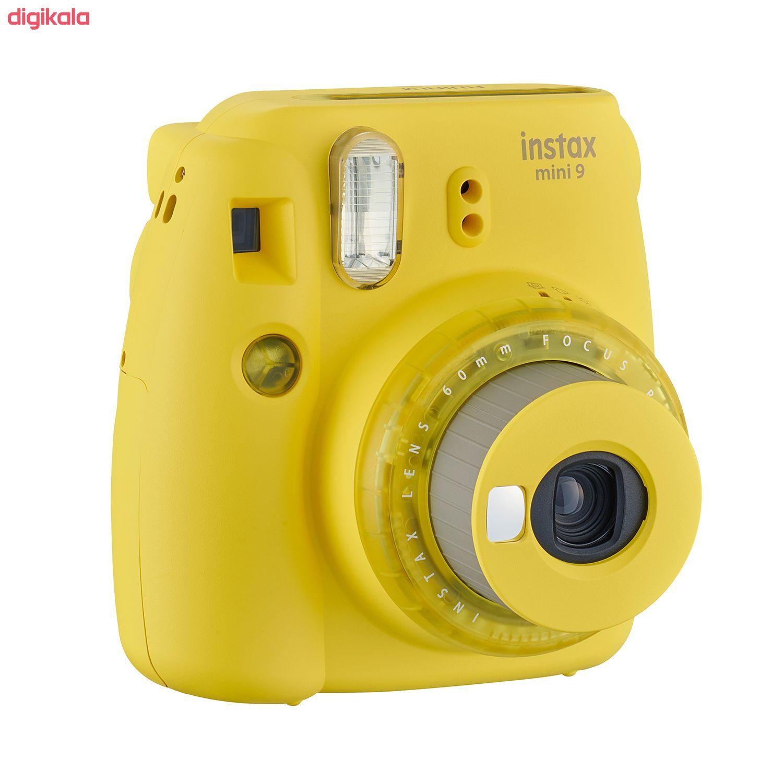 دوربین عکاسی چاپ سریع فوجی فیلم مدل Instax Mini 9 Clear main 1 22