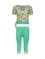 ست تی شرت و شلوارک زنانه کد 004 -  - 1