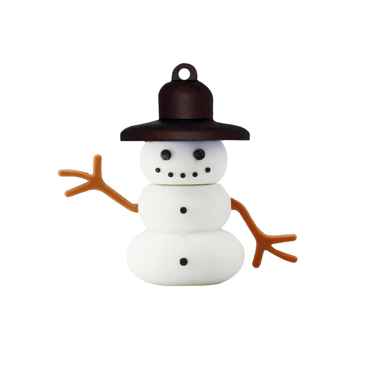 بررسی و {خرید با تخفیف}                                     فلش مموری طرح Snowman مدل DAA1141 ظرفیت 64 گیگابایت                             اصل