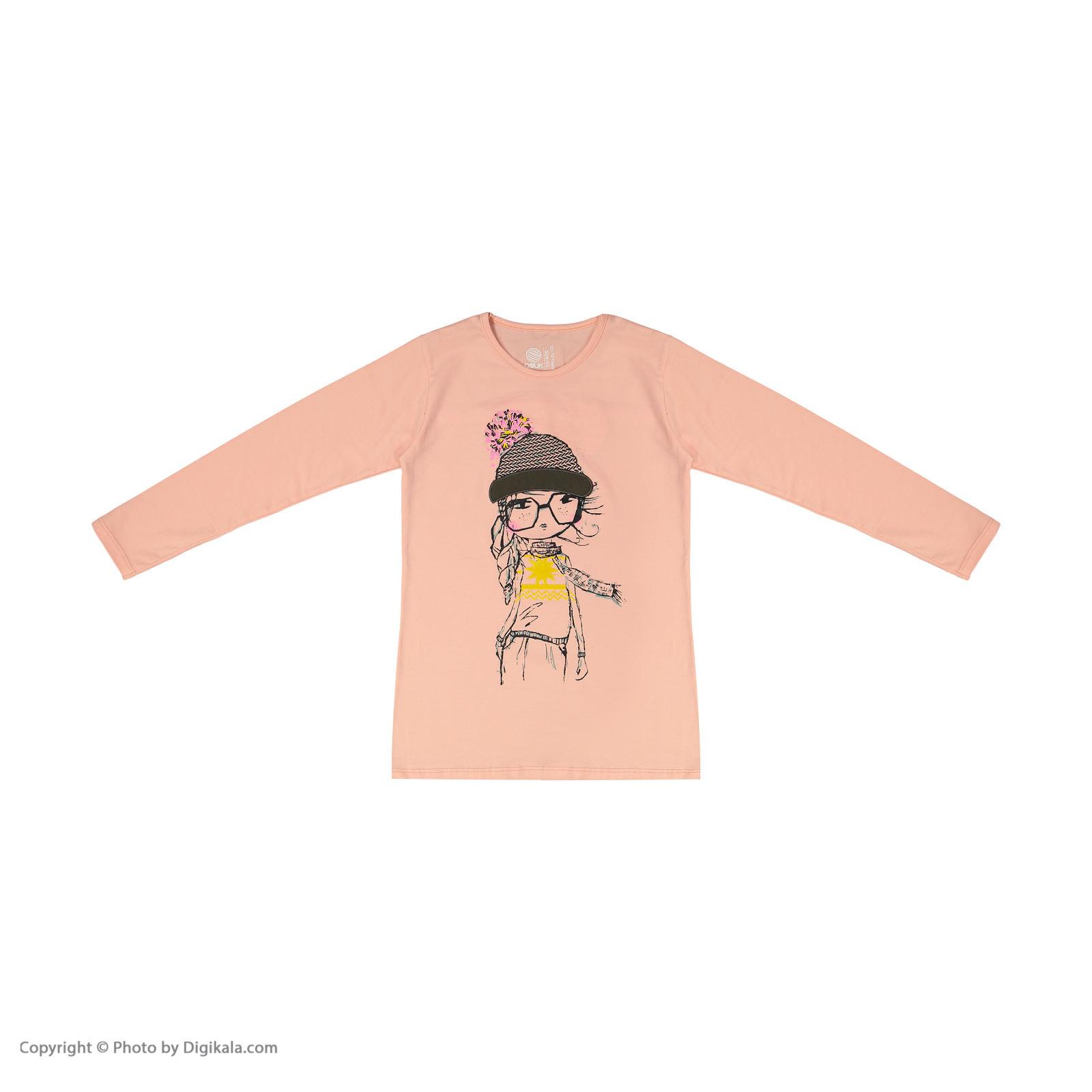 تی شرت دخترانه سون پون مدل 1391355-84 -  - 3
