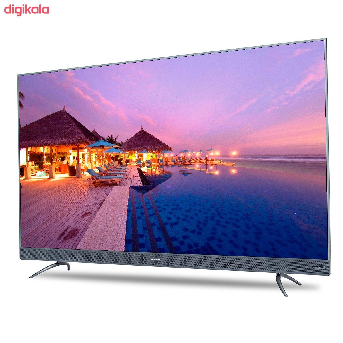 تلویزیون ال ای دی هوشمند ایکس ویژن مدل 55XTU745 سایز 55 اینچ main 1 13