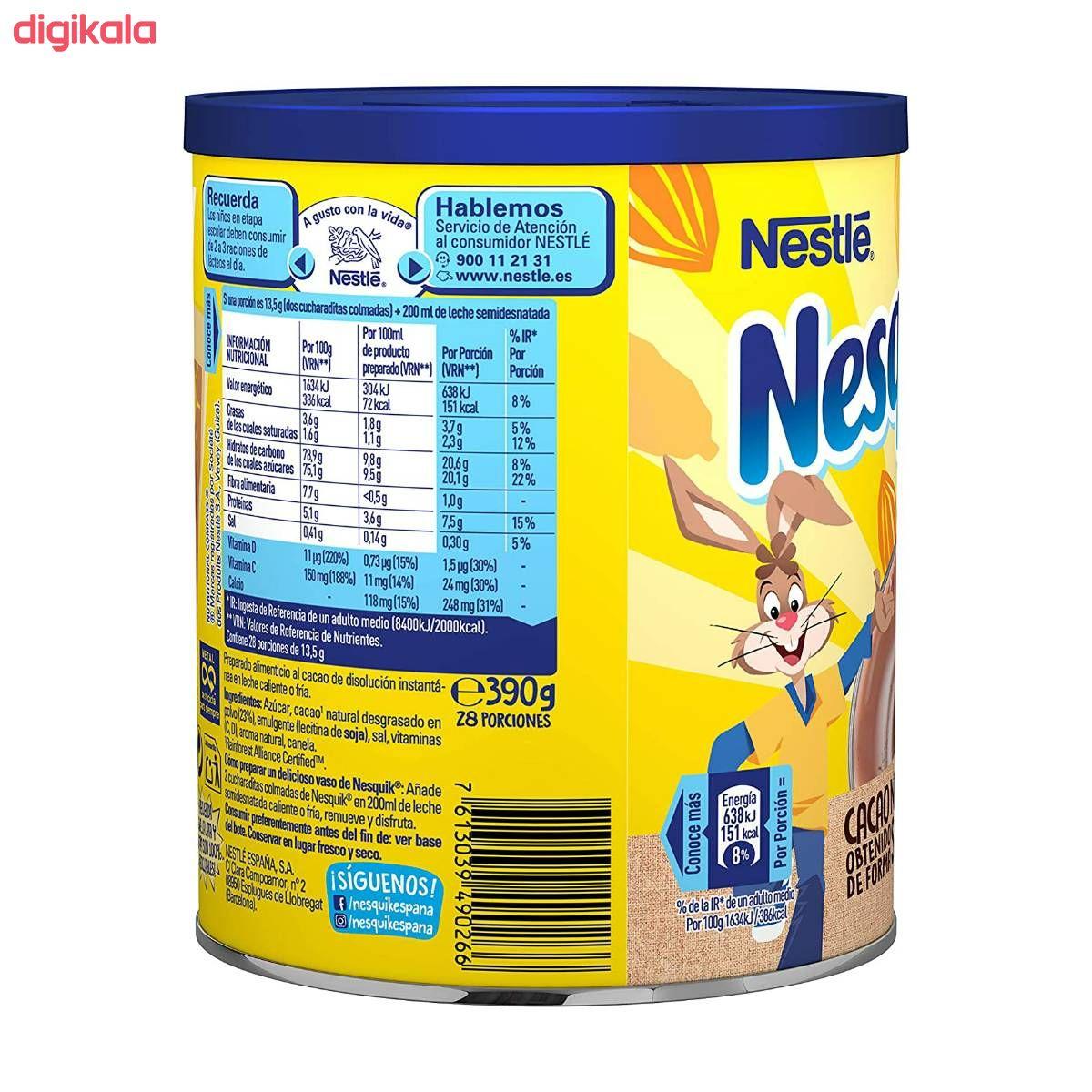 پودر شکلات نسکوئیک نستله - ۳۹۰ گرم main 1 2