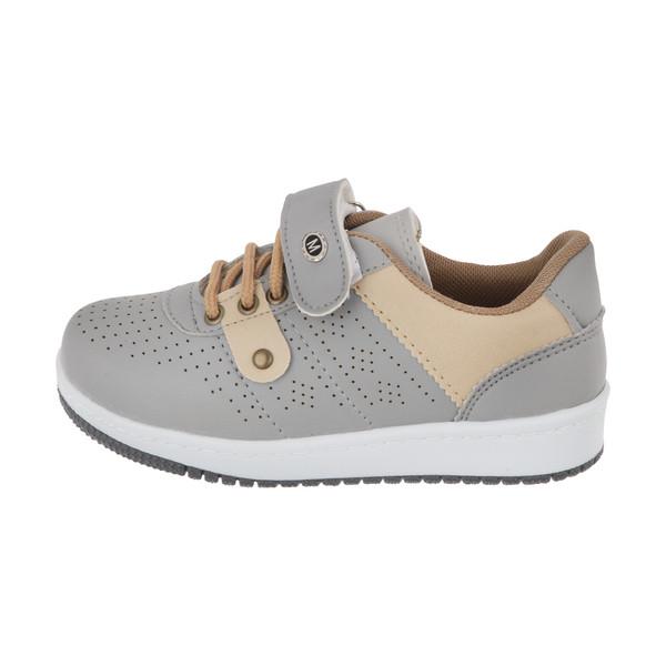 کفش راحتی بچگانه ملی مدل هودین کد 34497204 رنگ طوسی
