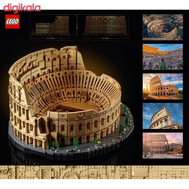لگو مدل ماکت بزرگ کولوسئوم رم main 1 4