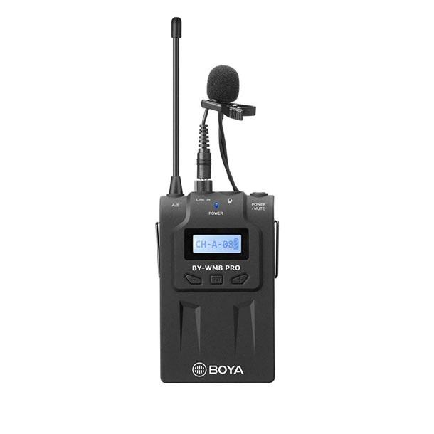 فرستنده میکروفون بی سیم بویا مدل BY-TX8 Pro
