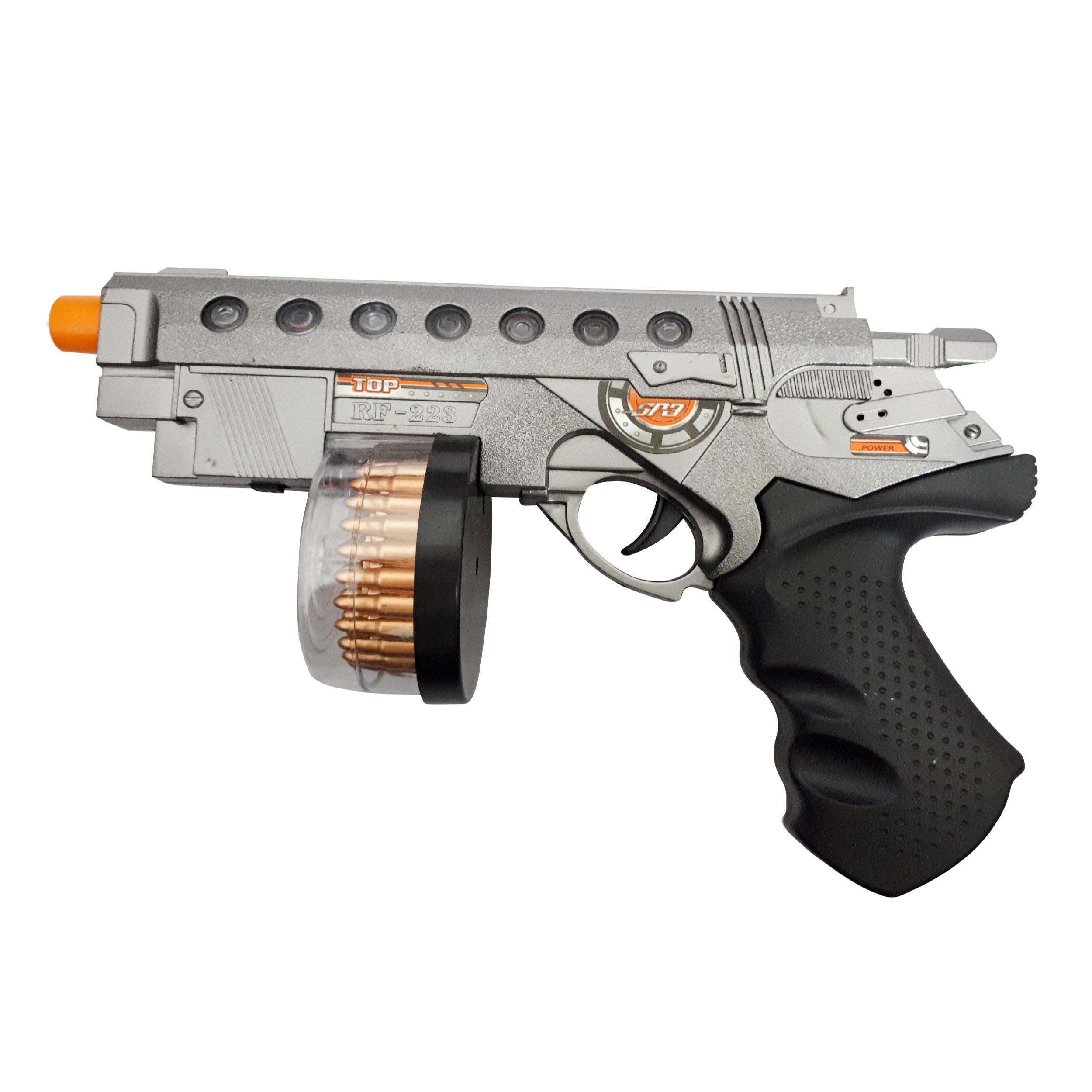 خرید                     تفنگ بازی طرح کلت مدل SUPER GUN کد 5458