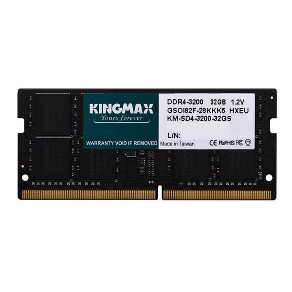 رم لپ تاپ DDR4 تک کاناله 3200 مگاهرتز CL22 کینگ مکس ظرفیت 16 گیگابایت