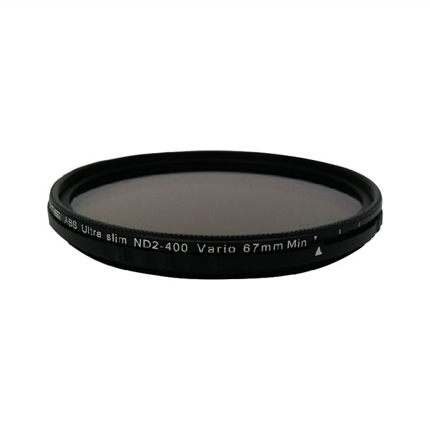 بررسی و {خرید با تخفیف} فیلتر لنز زومی مدل ABS Ultra Slim ND2-400 Vario 52mm اصل