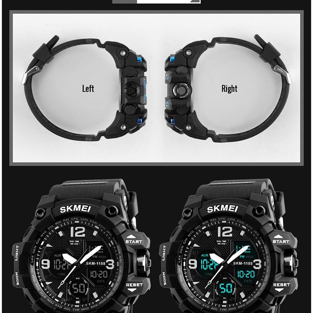 ساعت مچی عقربه ای مردانه اسکمی مدل 1155M-NP -  - 9