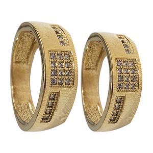ست انگشتر زنانه و مردانه سلین کالا مدلce-As19