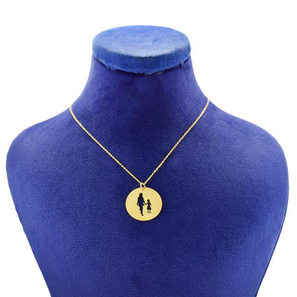 گردنبند طلا 18 عیار زنانه کانیار گالری مدل NE109