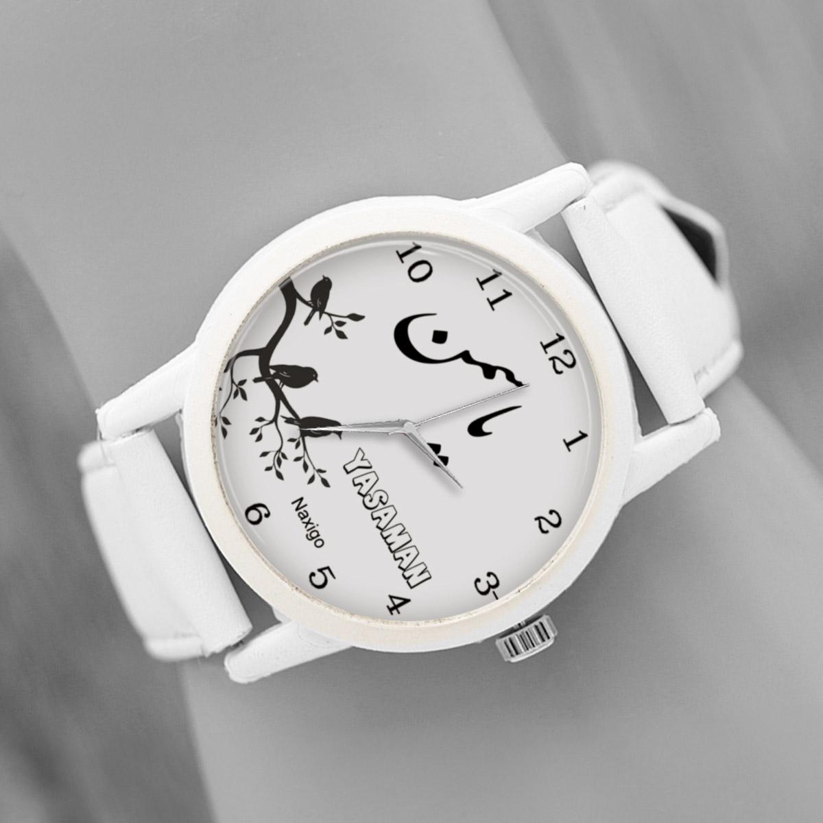 خرید و قیمت                      ساعت مچی  زنانه ناکسیگو طرح یاسمن کد LF3412