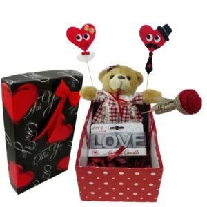 ست هدیه عروسک طرح خرس مدل Ndvs33