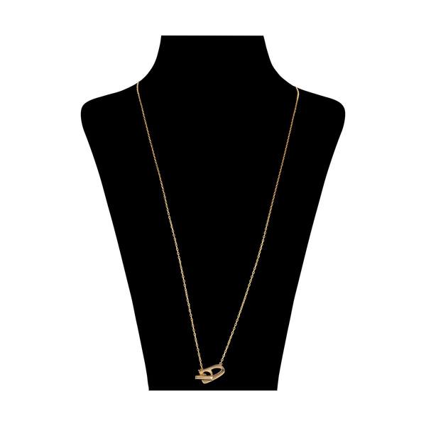 گردنبند طلا 18 عیار زنانه مدیسا مدل N7004