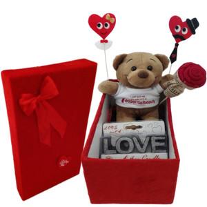 ست هدیه عروسک طرح خرس مدل Ndvs49