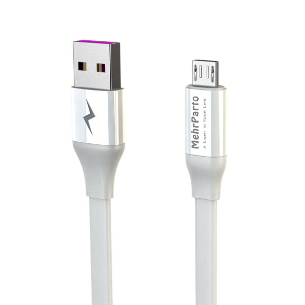 کابل تبدیل USB به microUSBمهرپرتو مدل MPUCM10 طول 1 متر