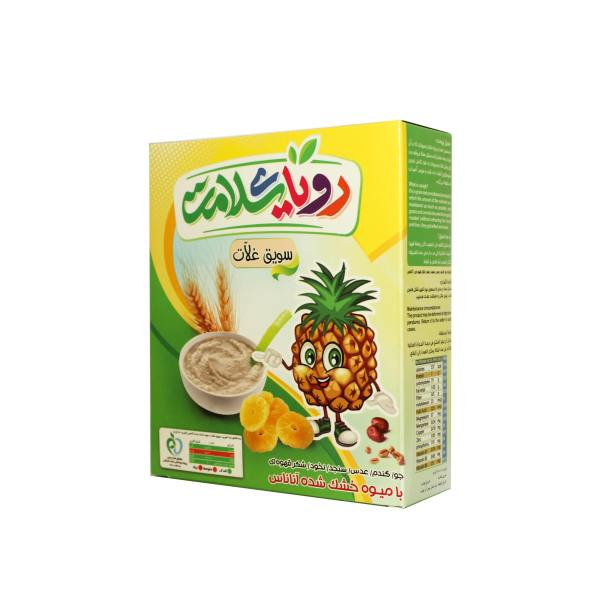 غلات صبحانه  با میوه آناناس رویای سلامت  - 200 گرم
