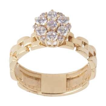 انگشتر طلا 18 عیار زنانه مایا ماهک مدل MR0362