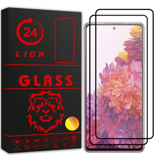 محافظ صفحه نمایش لاین مدل  RT007 مناسب برای گوشی موبایل سامسونگ Galaxy S20 FE 5G بسته دو عددی
