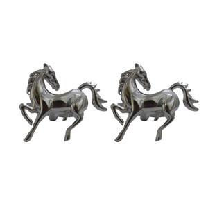دکمه سردست مردانه زرکات طرح اسب