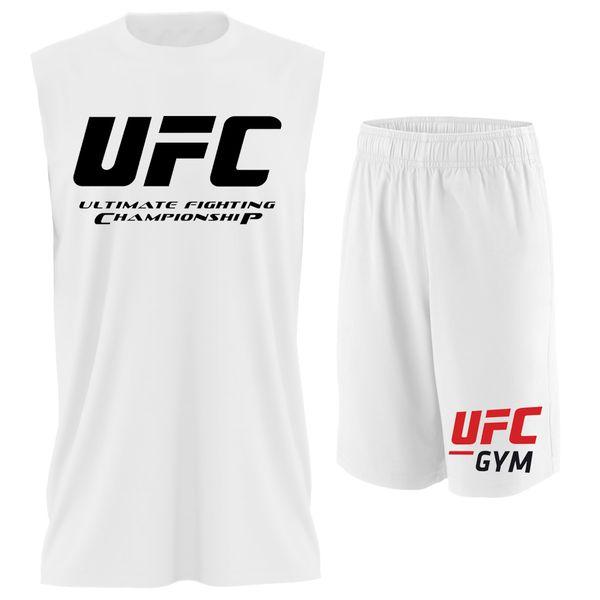 ست تاپ و شلوارک مردانه مدل UFC کد TPSM027