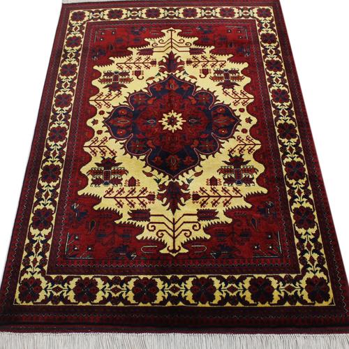 فرش دستبافت یک ونیم متری کد 308