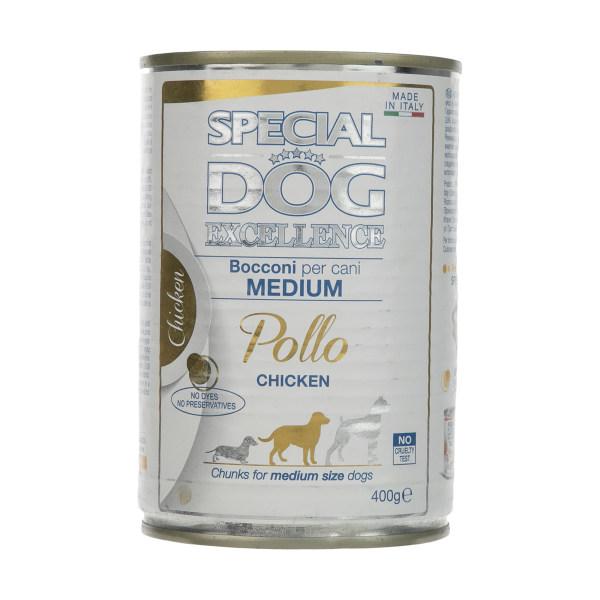 کنسرو غذای سگ اسپشیال داگ مدل EXCELLENCE وزن 400 گرم