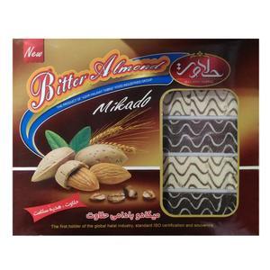 میشکا مخلوط شکلاتی و سفید حلاوت تبریز - 750 گرم