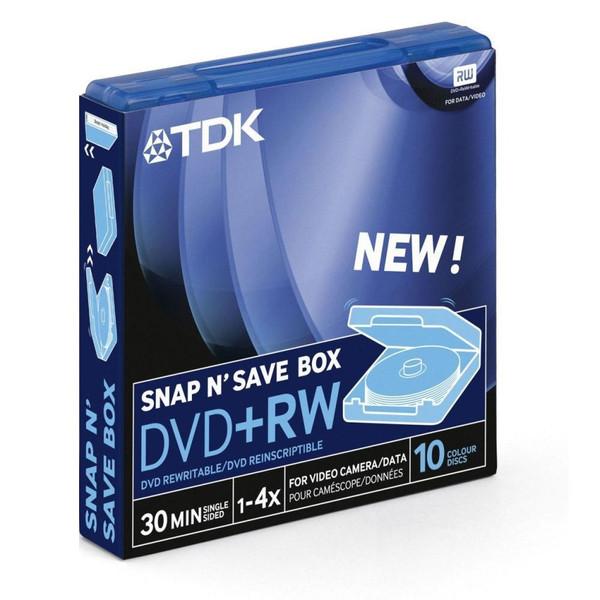 مینی دی وی دی تی دی کی مدل DVD-RW بسته 6 عددی