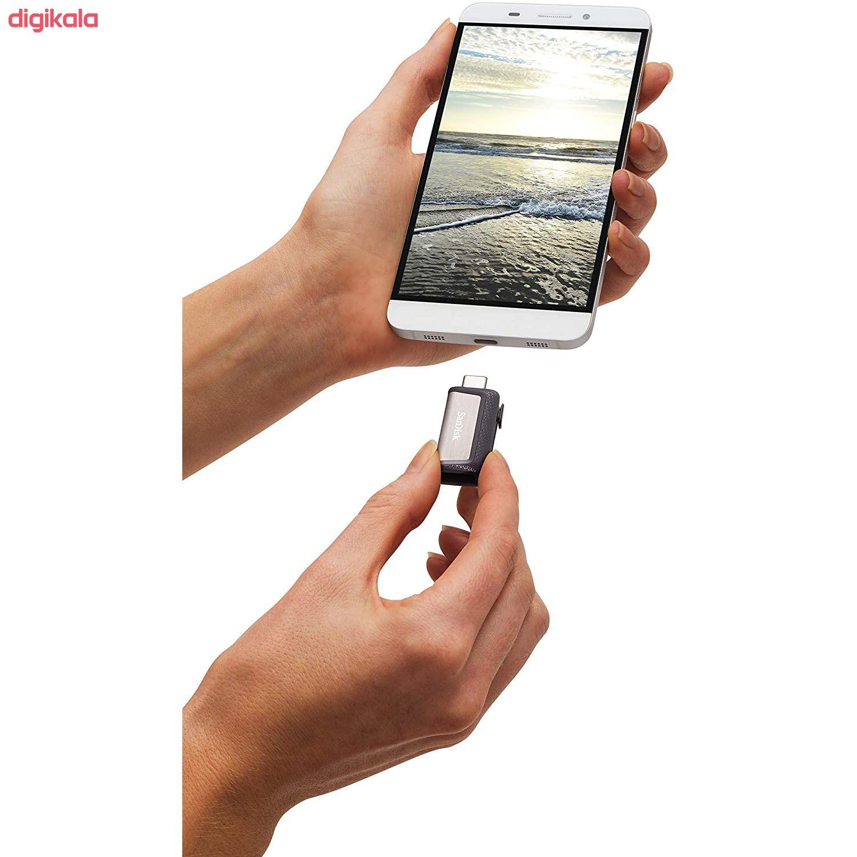 فلش مموری سن دیسک مدل Ultra Dual Drive USB Type-C ظرفیت 32 گیگابایت main 1 6