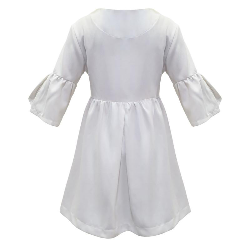 پیراهن دخترانه افراتین کد 0002 رنگ شیری