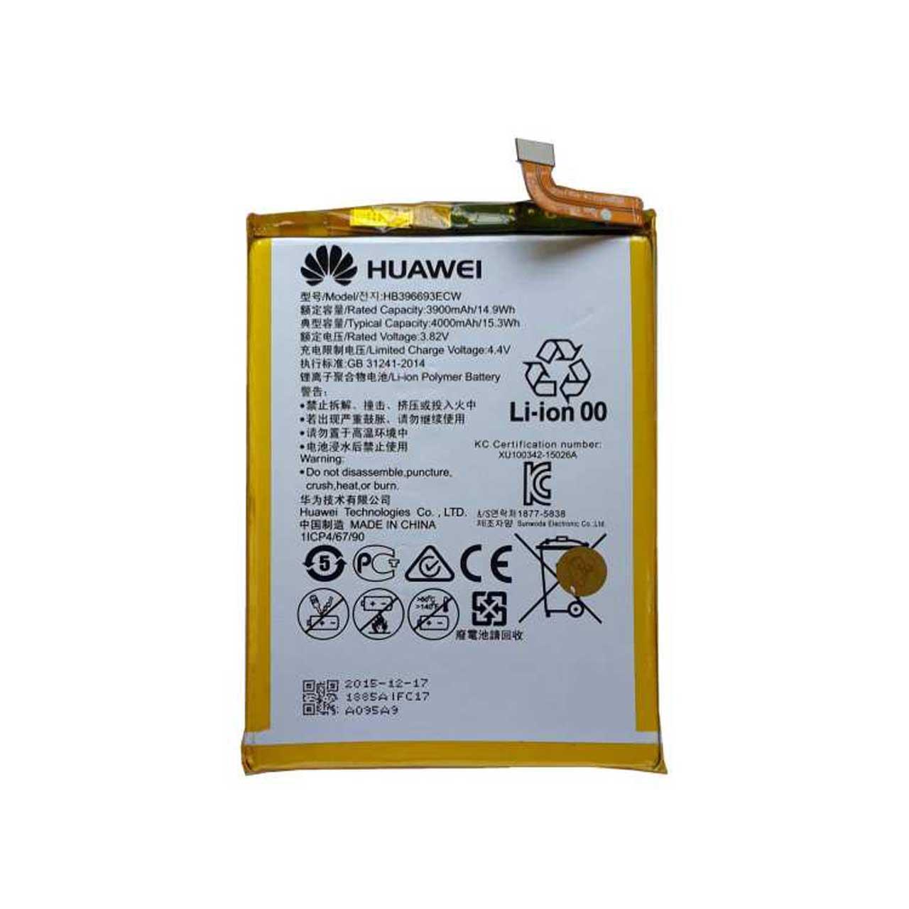 باتری تبلت مدل HB396693ECW ظرفیت 4000 میلی آمپر ساعت مناسب برای تبلت هوآوی Mate 8 Dual SIM
