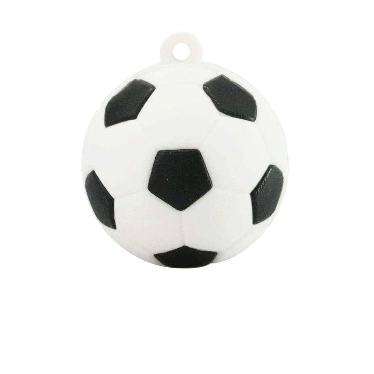 بررسی و {خرید با تخفیف}                                     فلش مموری طرح Soccer ball مدل DPL1114 ظرفیت 16 گیگابایت                             اصل
