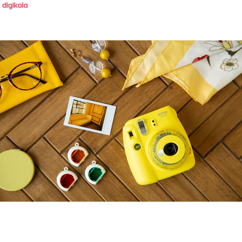 دوربین عکاسی چاپ سریع فوجی فیلم مدل Instax Mini 9 Clear main 1 28