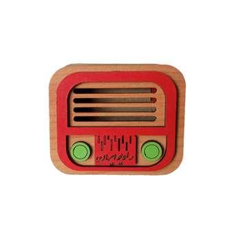 ماکت دکوری طرح رادیو کد R2