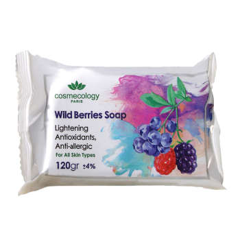 صابون روشن کننده پوست مدل Wildberries وزن 120 گرم