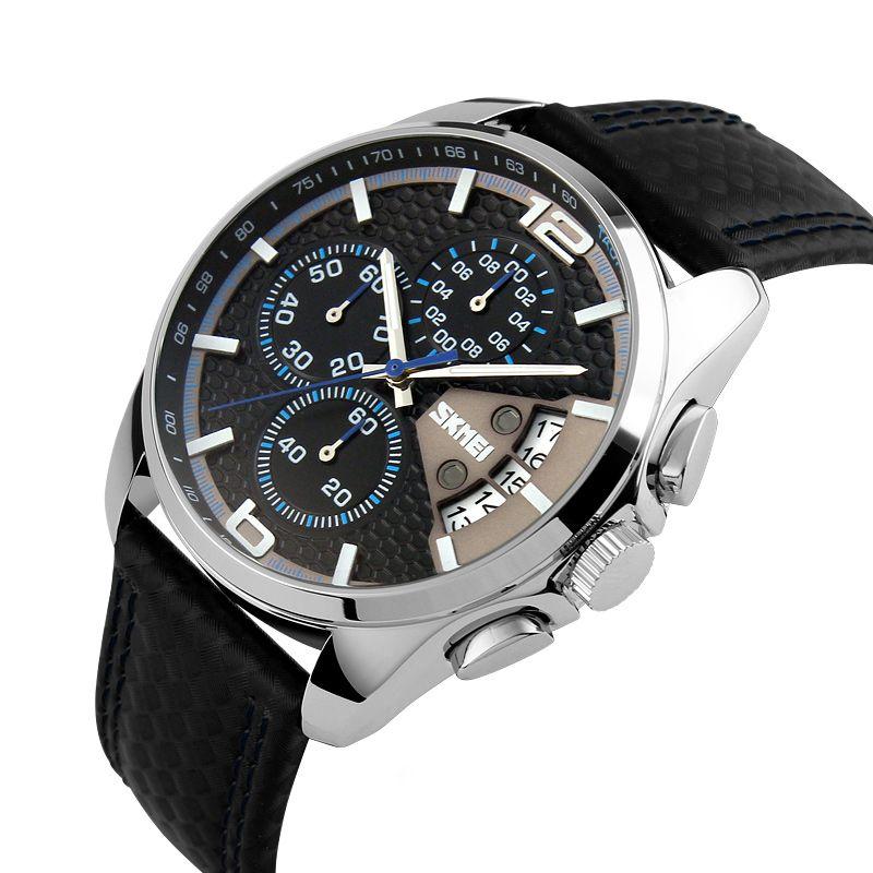 ساعت مچی عقربه ای مردانه اسکمی مدل 9106A-NP -  - 3